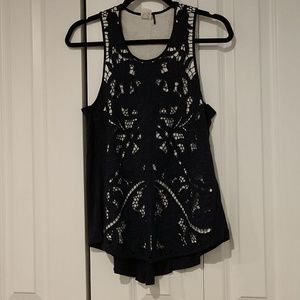 Anthropologie lace tank